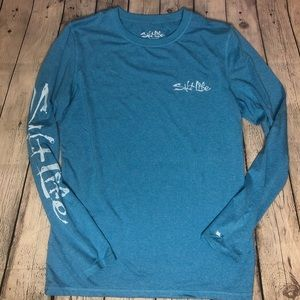 Salt Life Blue Long Sleeve